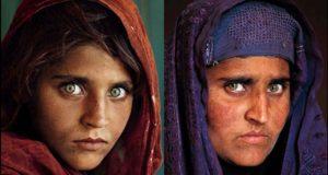 التقطت الصورة الاولى عام 1984 والصورة الاحدث عام 2002 Google Images