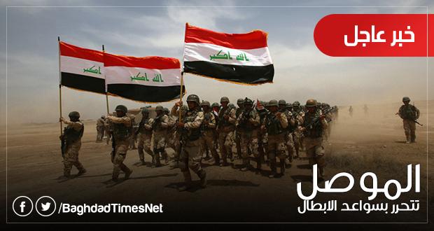 #في_الموصل: العبادي يتفقد سير المراحل النهائية لمعركة الموصل