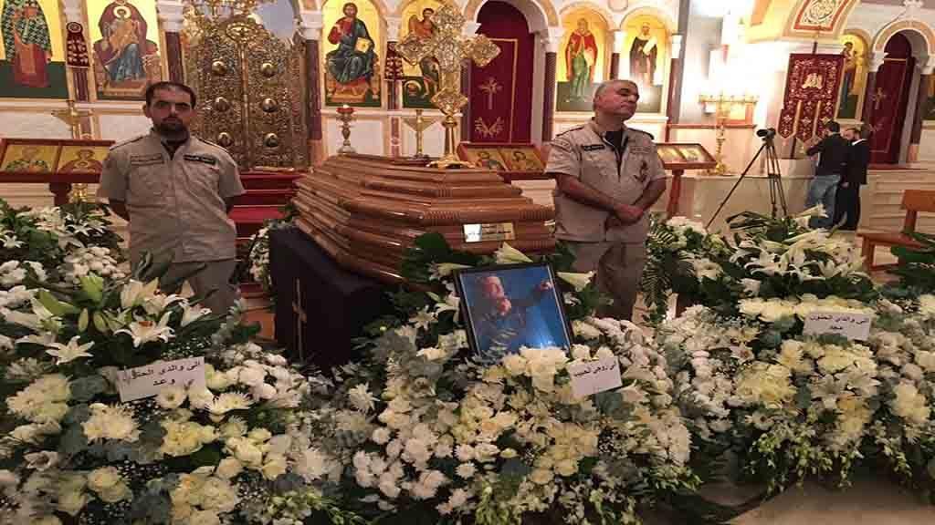 جنازة ملحم بركات