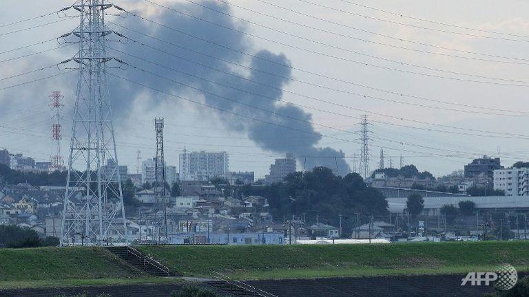"""حريق هائل في """"طوكيو"""" يتسبب بإنقطاع التيار الكهربائي"""