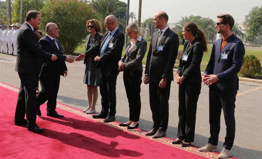رئيس الوزراء السويدي: سنضاعف عدد مستشارينا في العراق