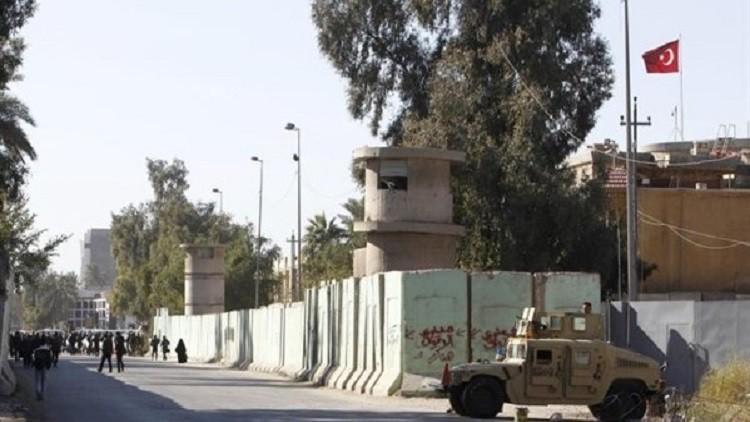 مراسلنا: قطع الطرق المؤدية إلى السفارة التركية في بغداد