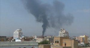 قصف جوي في صنعاء (Twitter)