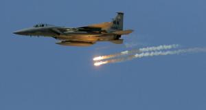 طائرة F-16 تابعة للتحالف الدولي