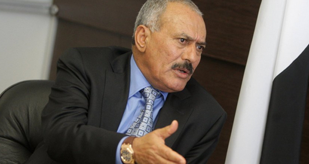 علي عبد الله صالح يدعو اليمنيين إلى القتال على الحدود مع السعودية
