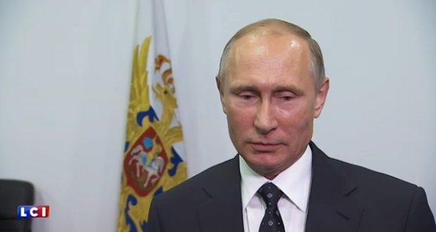 فلاديمير بوتين: امريكا وحلفائها مسؤولون عن الأوضاع في سوريا والمنطقة