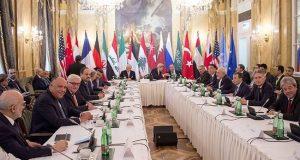 الاجتماع الدولي حول سوريا في فيينا بمشاركة 17 دولة (كانون الثاني/2016)