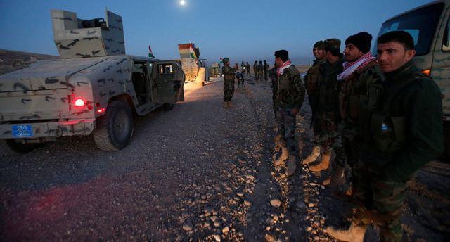 بالصور .. القوات الامنية في محور الخازر #تحرير_الموصل