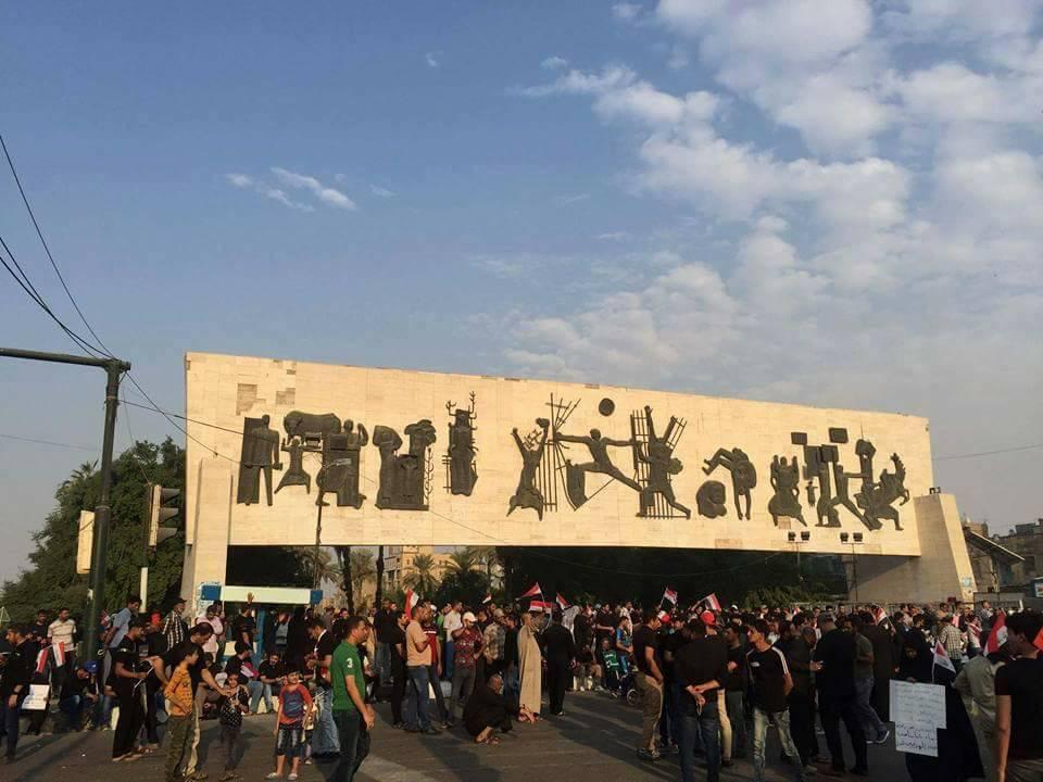من 4 نقاط.. معتصمو ساحة التحرير يصدرون بياناً جديداً