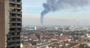 انفجار بأكبر منشأة كيميائية بالعالم في لودفيغنسهافن الألمانية