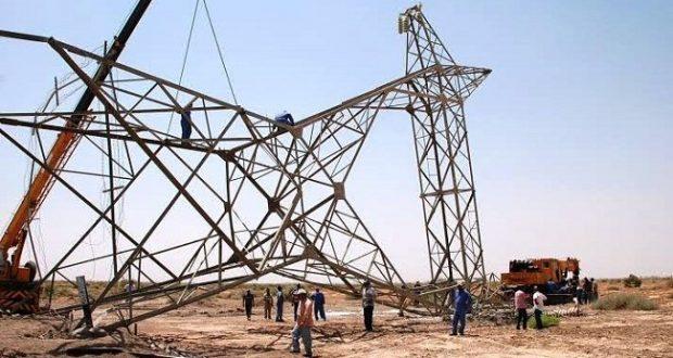 استهداف ابراج الكهرباء الرئيسية من قبل الأرهابيين (ارشيفية/تعبيرية) Google Images