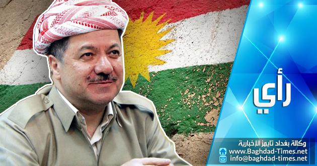 البارزاني يستعد لاعلان الدولة الكردية المستقلة قريباً بمباركة امريكية