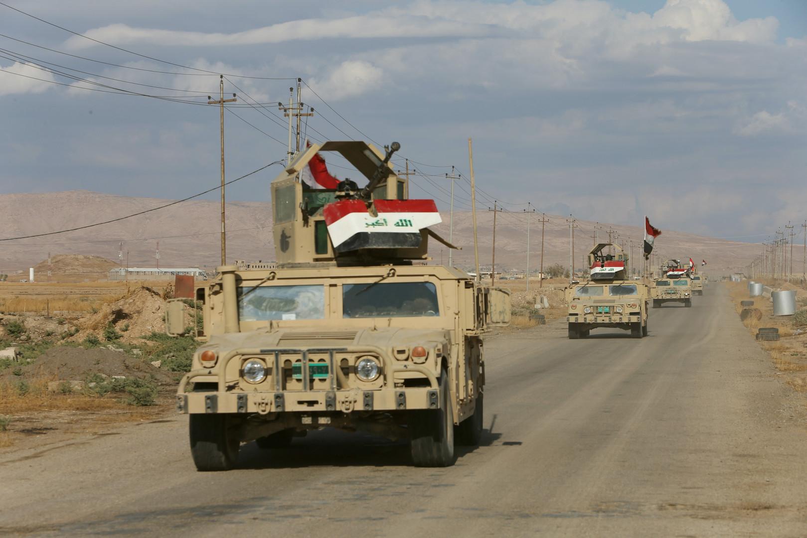 """""""إرادة النصر"""" تؤمن سور بغداد و30 قرية في يومها الرابع"""