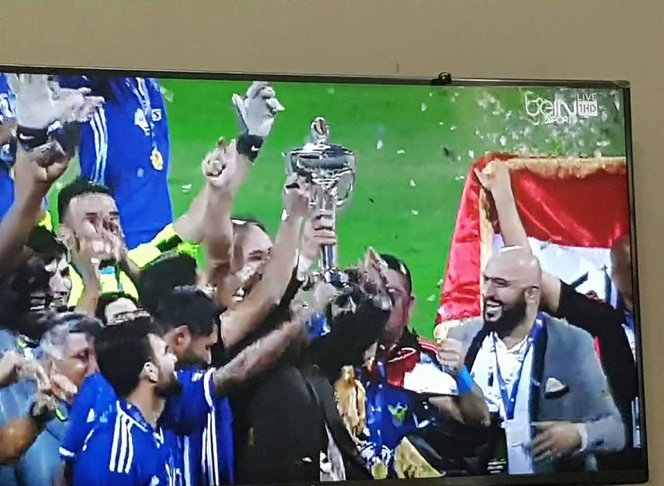 بث مباشر: القوة الجوية العراقي تحرز لقب بطل كأس الاتحاد الآسيوي لكرة القدم