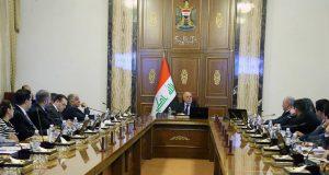 جلسة مجلس الوزراء العراقي برائسة حيدر العبادي 1/تشرين الثاني/2016