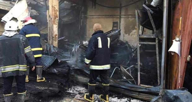 تجّار بغداد: الحرائق طالت ٩٠٠ محلا ومخزنا والخسائر تقدر بالمليارات
