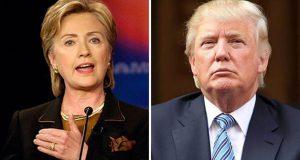 الديموقراطية هيلاري كلينتون والجمهوري دونالد ترامب