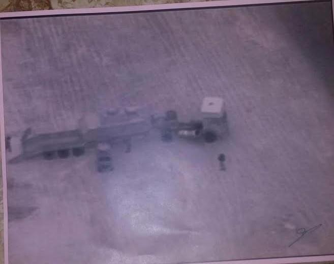 داعش يستخدم دبابات وأسلحة خشبية وبلاستيكية Facebook Images