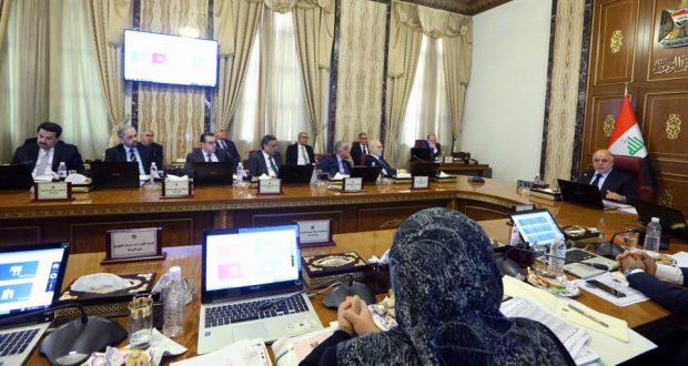 الجلسة الاعتيادية لمجلس الوزراء العراقي، برئاسة حيدر العبادي (1/تشرين الثاني/2016)