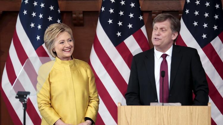 تقدم الديمقراطية هيلاري كلينتون في ولاية كولورادو