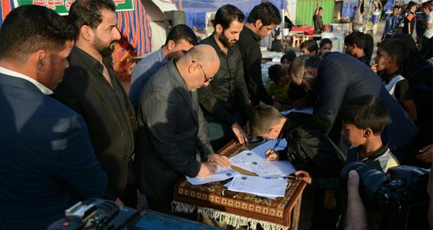 النجف: الاعلان عن جمع مليون توقيع لاستحداث وزارة الشعائر الدينية