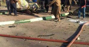 انفجار يستهدف محطة لتعبئة الوقود في محافظة بابل 24/تشرين الثاني/2016