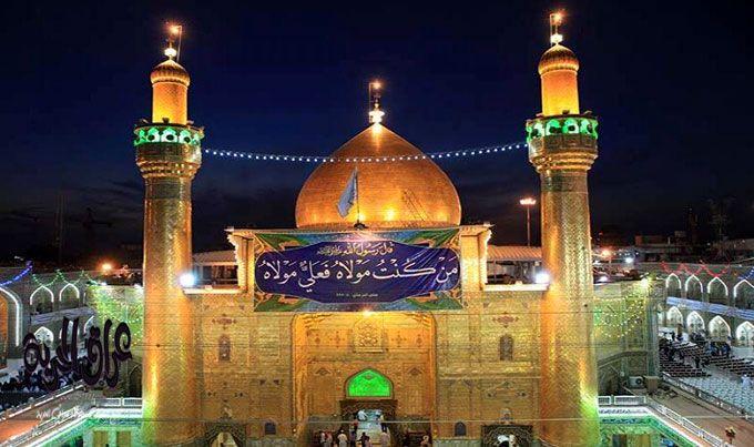 المؤمنون يحيون ذكرى وفاة النبي في النجف … وخمس محافظات تعطل الدوام الرسمي  غدا