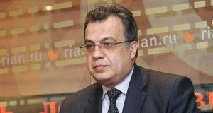 أنريه كارلوف سفير روسيا تركيا انقرة صور