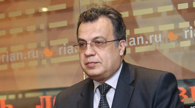 السفير الروسي في انقرة يتعرض لإطلاقات نارية وينقل إلى المستشفى