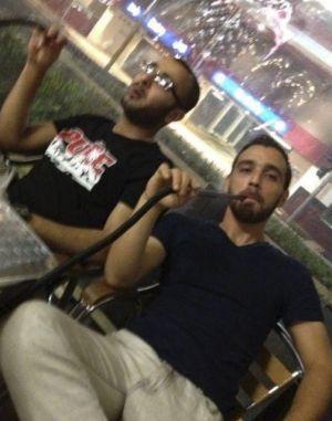 الارهابيان عمر الكتبي ومحمد كياد Facebook images
