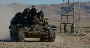 الجيش العربي السوري في مدينة تدمر