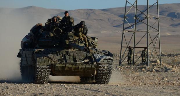 """الجيش العربي السوري يحبط اعنف هجوم لـ""""داعش"""" على تدمر منذ تحريرها"""