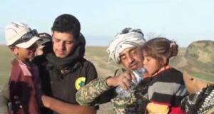 الحشد الشعبي: إخلاء اسر نازحة من جنوب الموصل ونقلهم لمناطق آمنة
