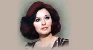 الفنانة الراحلة سعاد حسني