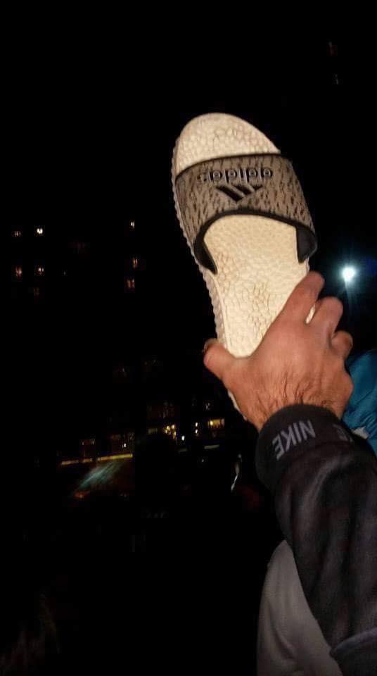 اعتصامات في ميسان احتجاجاً على زيارة المالكي لها (Facebook Images)