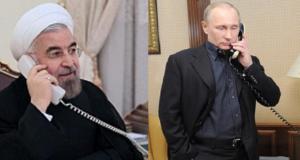 بوتين وروحاني يبحثان هاتفياً التسوية السورية (Google Images)