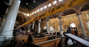 تفجير الكاتدرائية المرقسية بالعباسية وسط القاهرة (Reuters)