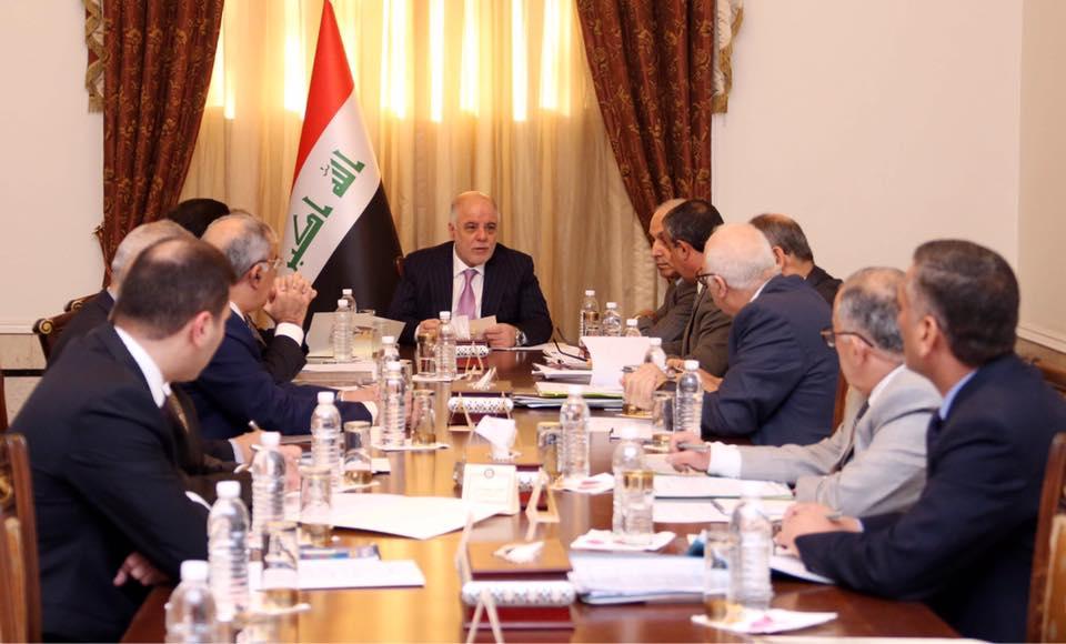 خلية الازمة الوزارية تعقد اجتماعاً برئاسة حيدر العبادي