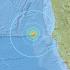 زلزال بقوة 6.5 درجة يهز ساحل كاليفورنيا الشمالية (Twitter Images)