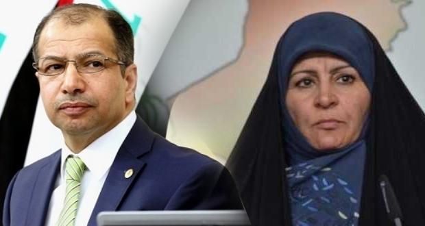 يحدث الآن: مشادة كلامية حادة بين رئيس البرلمان سليم الجبوري والنائب عواطف نعمة