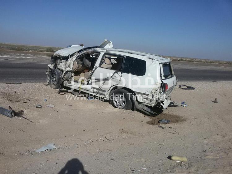 خاص: صور حادث السير الذي تسبب بوفاة النائب عبد العظيم عجمان