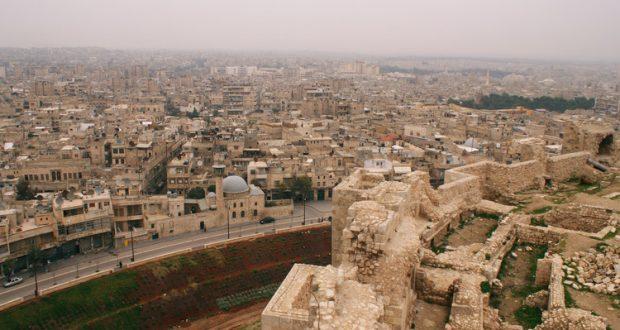 صورة حديثة لمدينة حلب ( Reuters Khalil Ashawi )