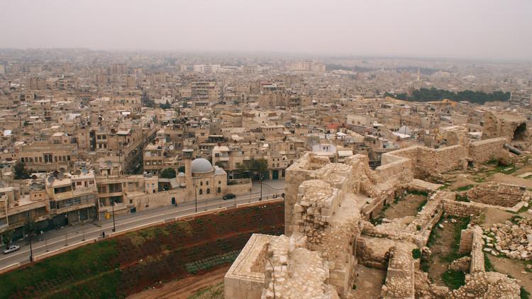 """بالفيديو .. مدينة حلب القديمة بعد تطهيرها من """"داعش"""" الإرهابي"""