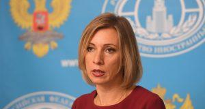 ماريا زاخاروفا الناطقة باسم وزارة الخارجية الروسية (Photo: Sputnik)