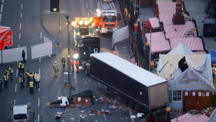 """""""داعش"""" الإرهابي يتبنى مسؤولية الهجوم بالشاحنة في برلين"""