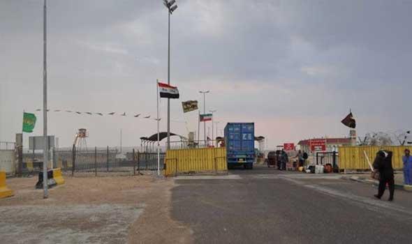 ضبط 15 شاحنة محملة باللحوم في منفذ سفوان الحدودي في البصرة