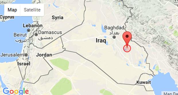 هزة أرضية تضرب شرق مدينة الكوت بمحافظة واسط