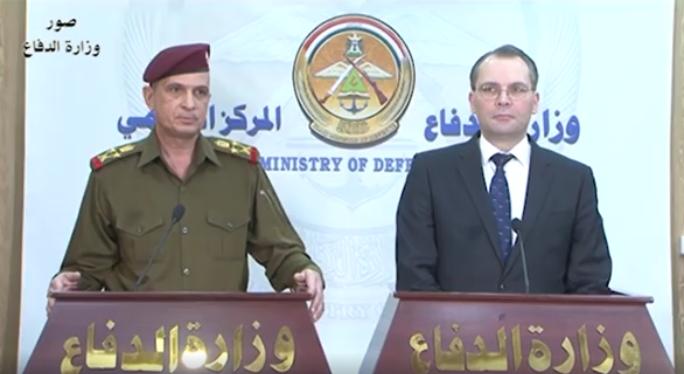 """وصول وزير الدفاع الفنلندي """"يوسي نينستو"""" إلى العاصمة بغداد"""