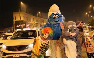 احتفالات راس السنة الميلادية في العاصمة بغداد 2017 (Facebook Images)