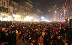 احتفالات راس السنة الميلادية في العاصمة بغداد 2017 (Photo: Maad Adil)